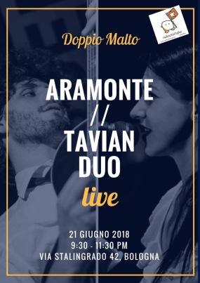 Aramonte // Tavian Duo - Locandina
