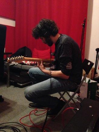 Recording session @So far away