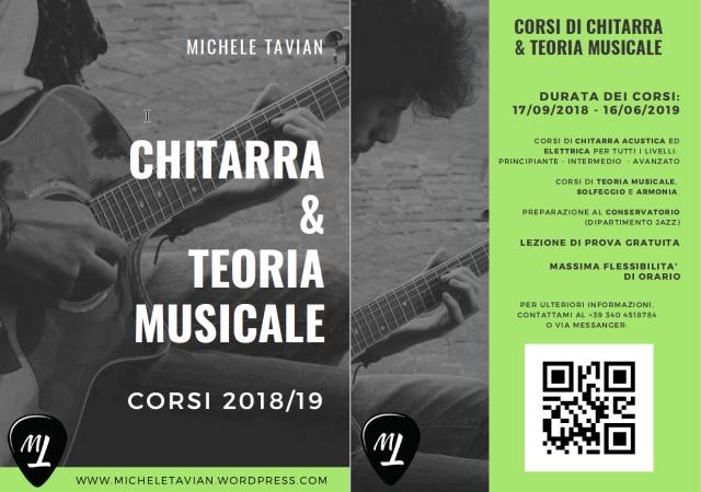 Chitarra e Teoria 2018-19